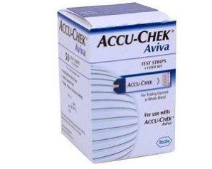 Accu-Chek Aviva 50 Strisce Rilevatrici Glicemia