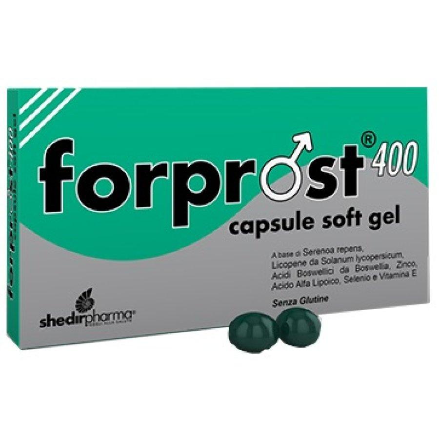 Shedir Pharma Forprost 400 Integratore  15 Capsule Molli