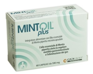 Ca.Di. Group Mintoil Plus Integratore Alimentare 60 Capsule