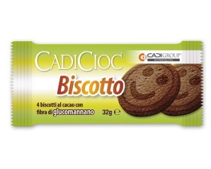 CADICIOC Bisc.Cacao 4x8g