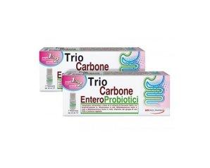 Pool Pharma Trio carbone Enteroprobiotici Integratore Alimentare 7 Flaconi