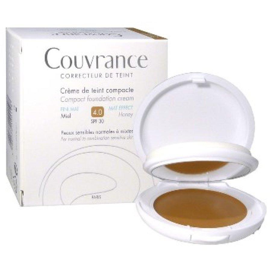 Avene Couvrance Crema Compatta Colorata Oil Free 04 Color Miele 9.5 g