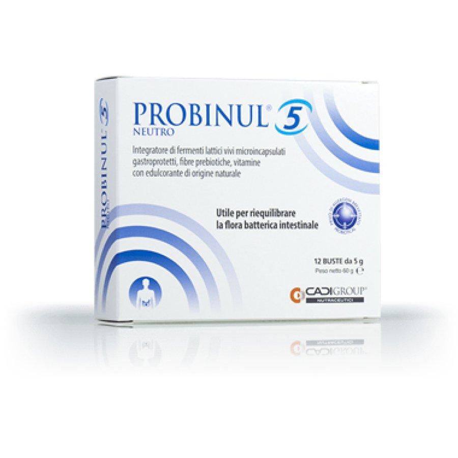 Ca.Di. Group Probinul 5 Integratore Alimentare  Neutro 12 Bustine