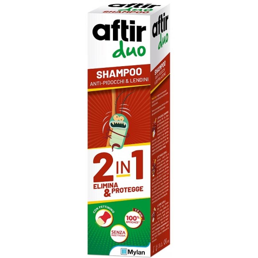 Meda Aftir Duo Shampoo Doppia Azione Anti pidocchi  100 ml
