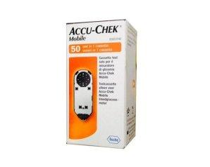 Accu-Chek Mobile 50 Test Mic2 Strisce Misurazione Glicemia