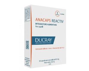 Ducray Anacaps Reactiv Integratore Alimentare Unghie e Capelli 30 Capsule