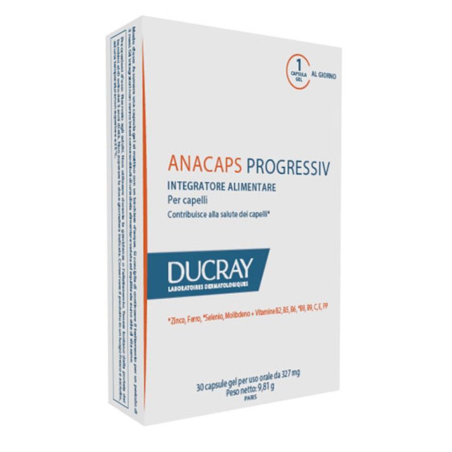 Ducray Anacaps Progressiv Integratore Alimentare Per Capelli 30 Capsule