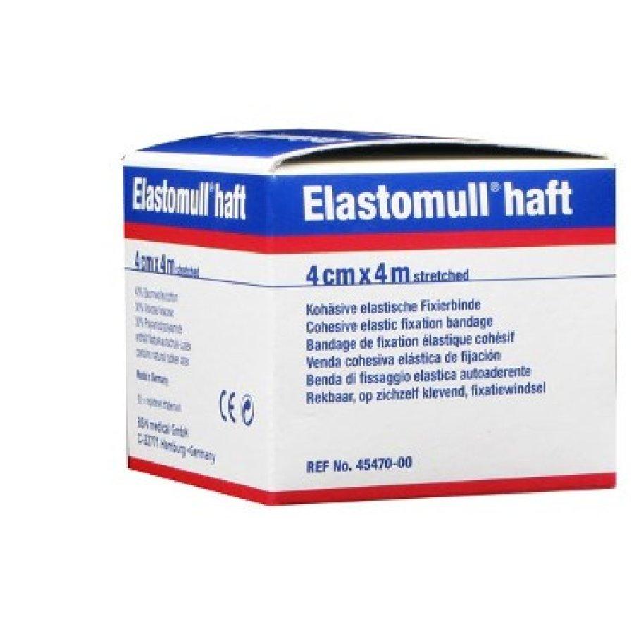 Benda Elastica Autoadesiva Elastomull Haft Compressione Forte 4x400 Cm