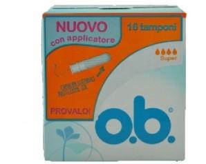 O.B. Applicatore Super 16pz