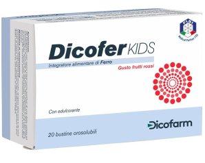 Dicofarm Dicofer Kids 20 Bustine Orosolubili