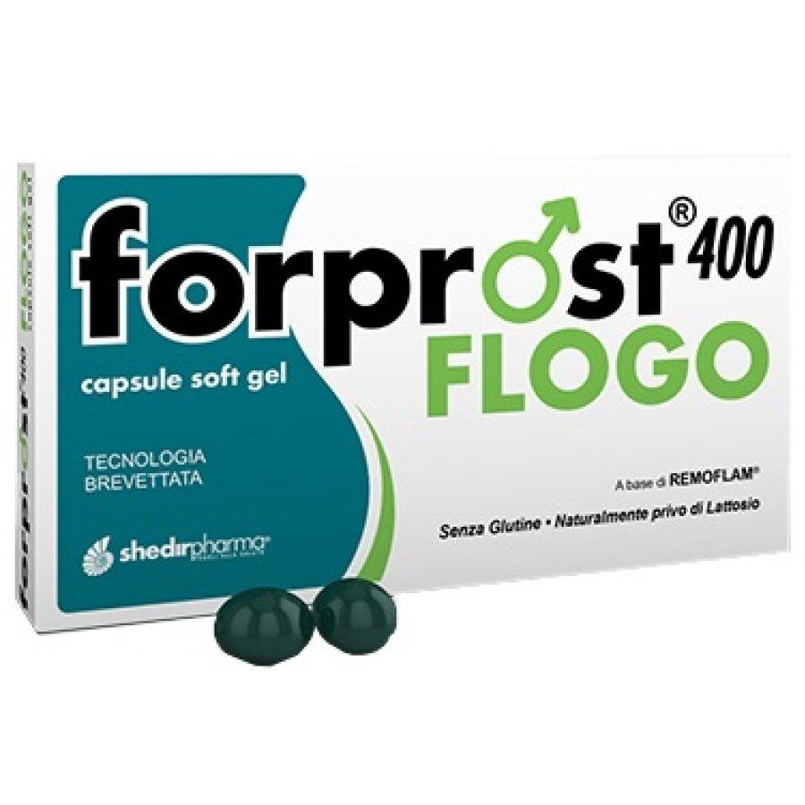 Shedir Pharma Forprost Flogo 400 15 Capsule Molli