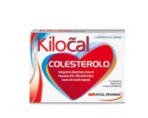 Kilocal Colesterolo Integratore Alimentare 15 compresse