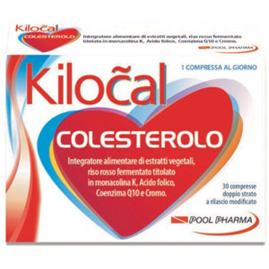Kilocal Colesterolo Integratore Alimentare 30 compresse