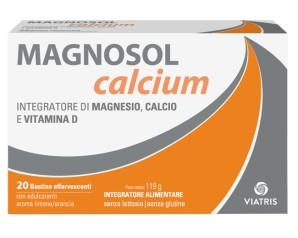 Meda Pharma Magnosol Calcium Polvere Effervescente 20 Bustine