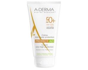A-Derma  Solare Protect SPF50+ AD Crema Viso Protezione Altissima 40 ml