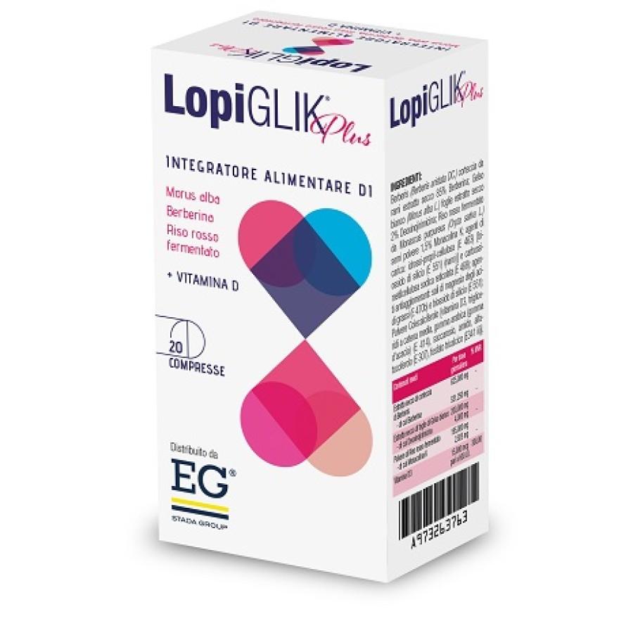 LopiGLlK Plus Integratore Alimentare 20 Compresse