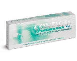 Sanifarma Contacta Daily Lens Yal 15 Lenti Monouso Giornaliere 4 Diottrie