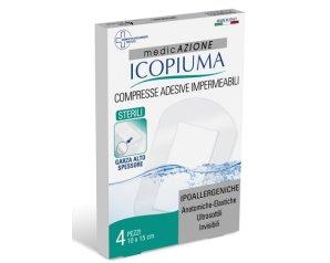 Desa Pharma Garza Compressa Icopiuma Medicata Postoperatoria 10x15 Cm 4 Pezzi