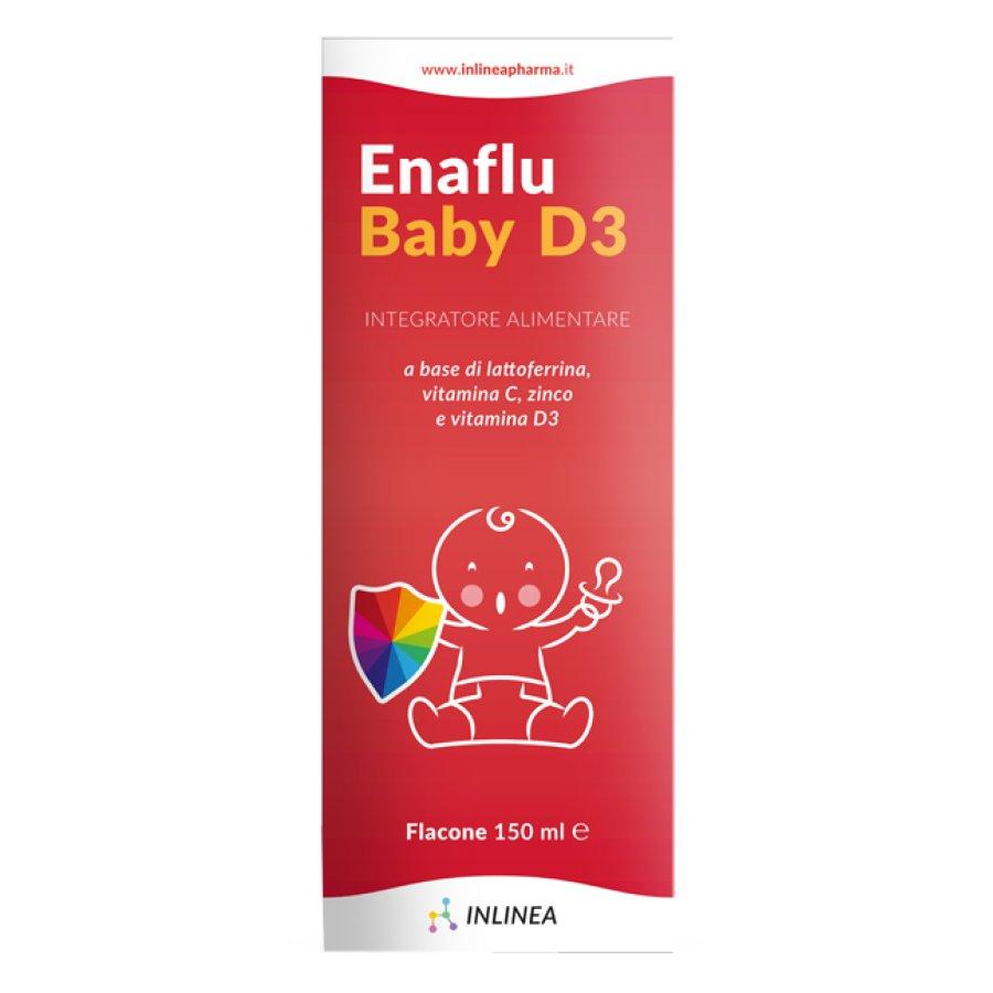 Inlinea Enaflu Baby D3 Soluzione Orale 150 Ml