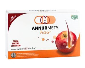 Nutraceutical & Drugs - Annurmets Hair 550 Mg Confezione 30 Capsule