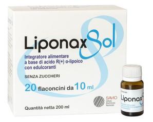 LIPONAX SOL 20FL 10ML