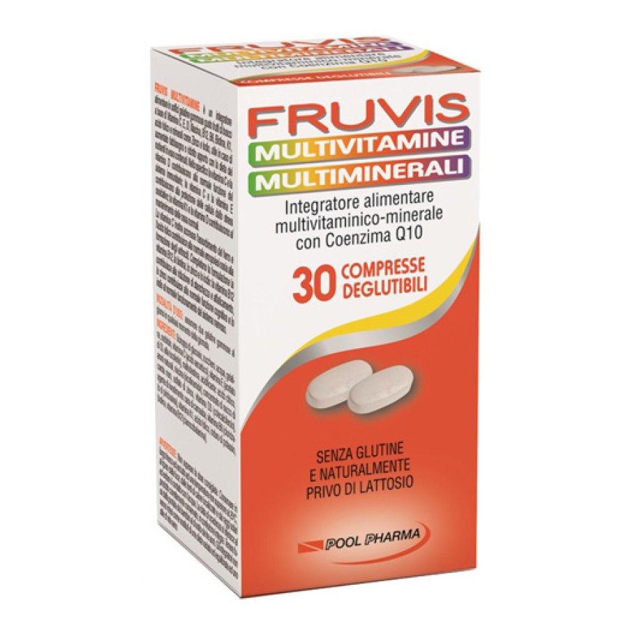 Pool Pharma Fruvis Multivitaminico 30 Compresse Rivestite