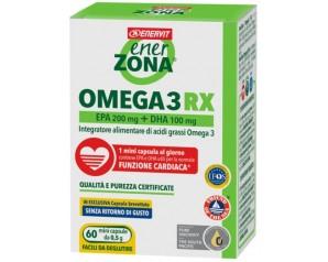 Enerzona  Integratori Omega3 Rx Acidi Grassi EPA DHA 60 Mini Perle 0,5 g