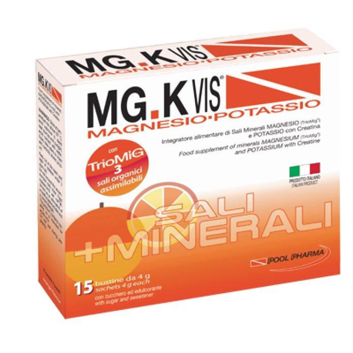 Pool Pharma Mgk Vis Orange Magnesio E Potassio 15 Bustine
