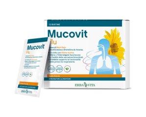 Erba Vita Group Mucovit Flu 12 Bustine