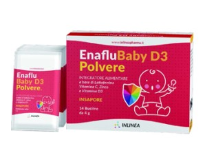 ENAFLU BABY D3 POLVERE 14BUST