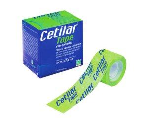 Pharmanutra Cetilar Tape Con Mentolo Striscia Adesiva Anelastica 4x250 Cm