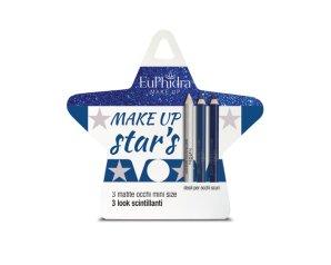 Euphidra Cofanetto Make Up Star's Occhi Scuri 2 Matite Nero + 1 Matita Argento