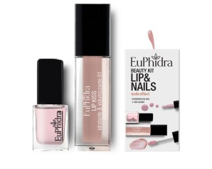 Zeta Farmaceutici Euphidra Cofanetto Beauty Kit Nude Effect 1 Gloss + 1 Smalto