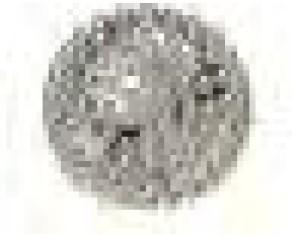 BJT988 ORECCHINI ASTEROID HALF