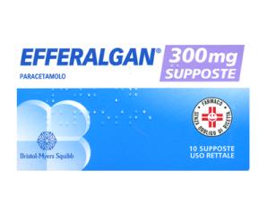 Efferalgan Bambini 300 Mg Supposte 10 Supposte