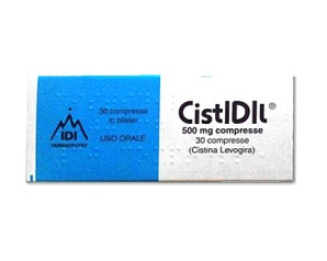 Cistidil 500 Mg Compresse 30 Compresse