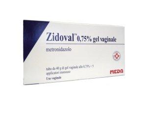 Zidoval 0,75% Gel Vaginale Tubo Al Da 40 G Con 5 Applicatori