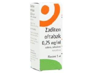Zaditen Oftabak 0,25 Mg/Ml Collirio Soluzione 5 Ml Flacone Multidose