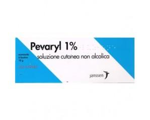 Pevaryl 1% Soluzione Cutanea Non Alcolica 6 Bustine 10 G