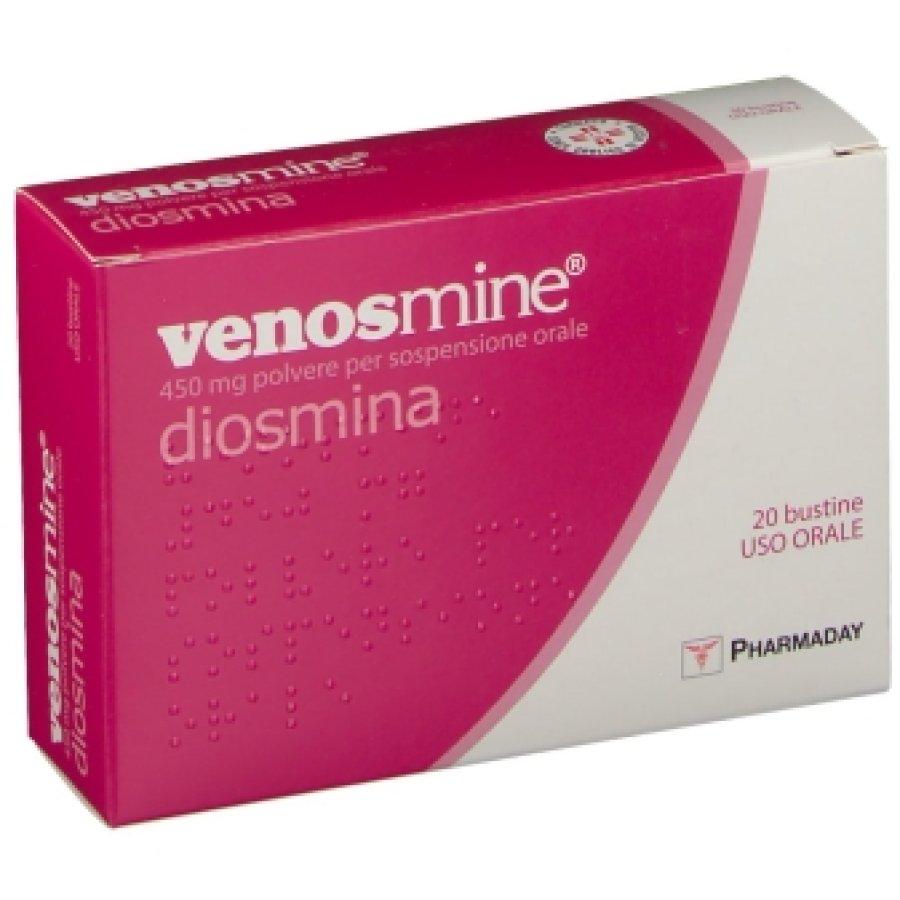 Venosmine 450 Mg Polvere Per Sospensione Orale 20 Bustine