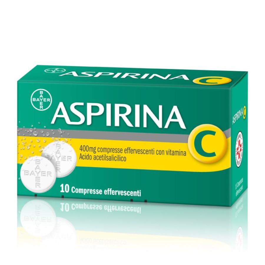 Aspirina C 400 Mg Compresse Effervescenti Con Vitamina C 10 Compresse