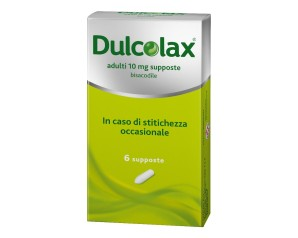 Dulcolax Adulti 10 Mg Supposte 6 Supposte