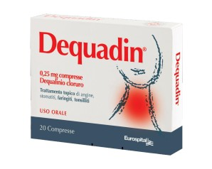DEQUADIN*20CPR 0,25MG