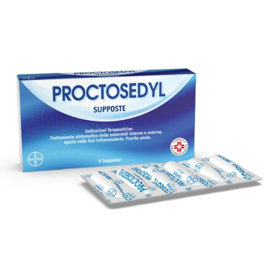 Proctosedyl Supposte 6 Supposte