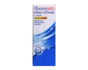 Narhimed Naso Chiuso 1 Mg/Ml Spray Nasale Soluzione Adulti 1 Flacone Nebulizzatore Da 10 Ml