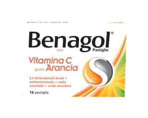 Benagol Vit C Pastiglie Con Vitamina C Gusto Arancia 16 Pastiglie