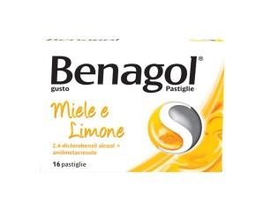 Benagol Pastiglie Gusto Miele E Limone 16 Pastiglie
