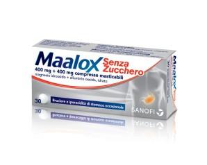 MAALOX*S/Z 30CPR LIMO400+400MG