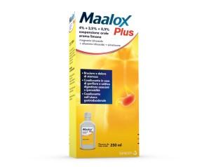 Maalox Plus 4% + 3,5% + 0,5% Sospensione Orale Aroma Menta Flacone In Pet Da 250 Ml