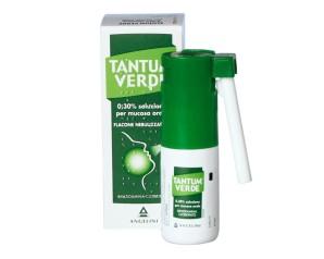 Tantum Verde 0,15% Soluzione Per Mucosa Orale Flacone Nebulizzatore 30 Ml